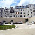 Jardin Saint Aignan, dédié à Anne Frank