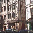 Maisons à colombages du temps de Louis XI