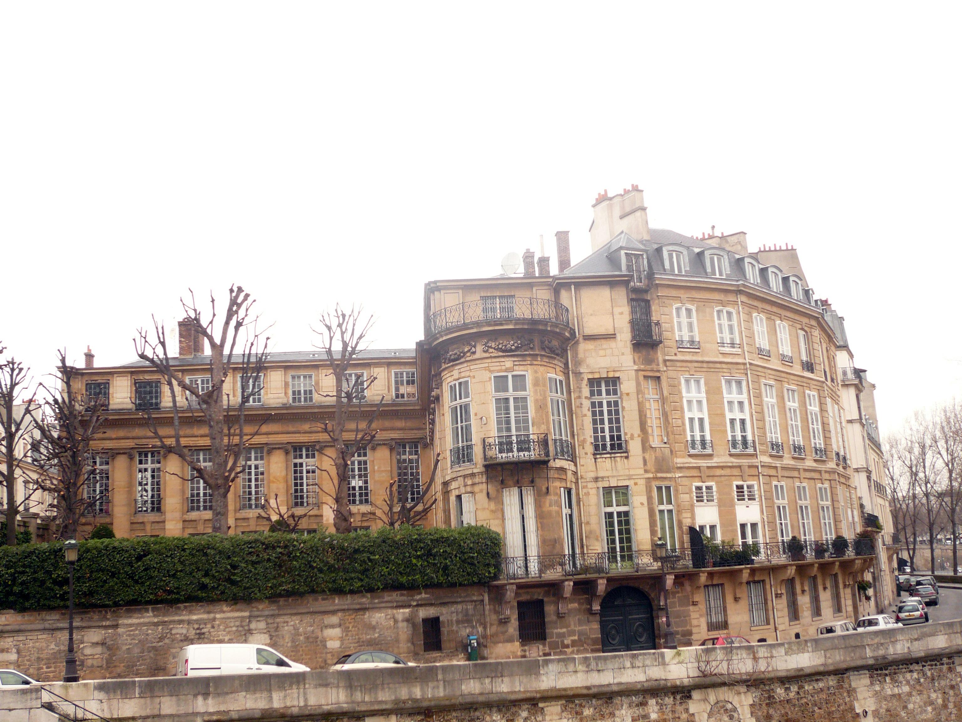 Hotel Lambert Vue De La Seine