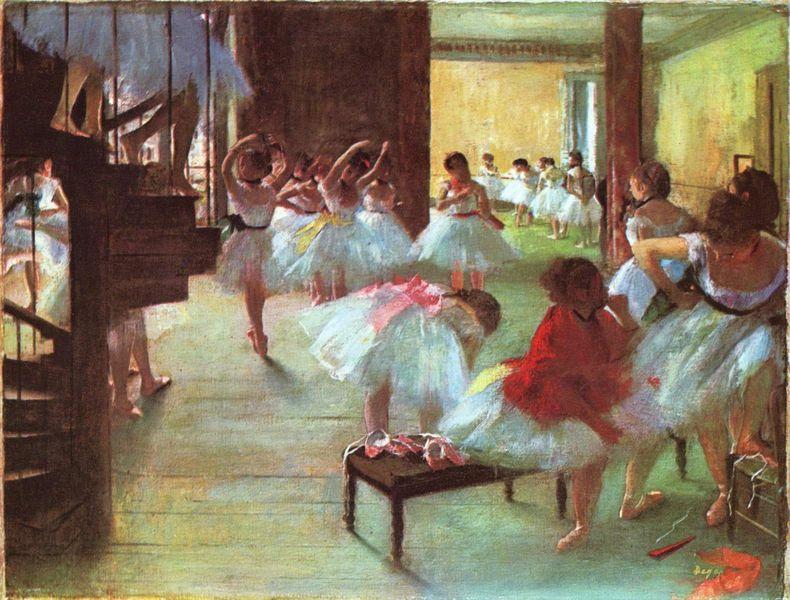 Degas école de danse