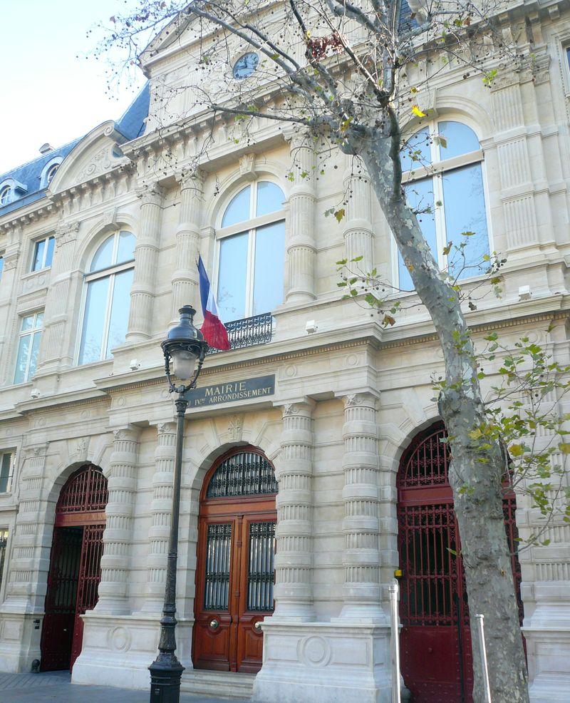 Mairie IV vue générale