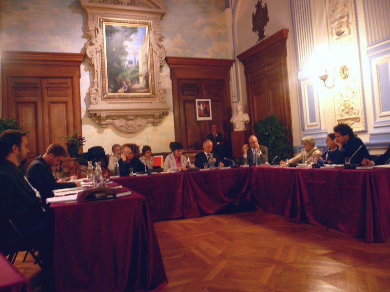 Conseil arrondissement IVe 12 10 09
