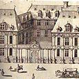 Hôtel de Mayenne avant l'adjonction d'un bâtiment central au XIXe siècle