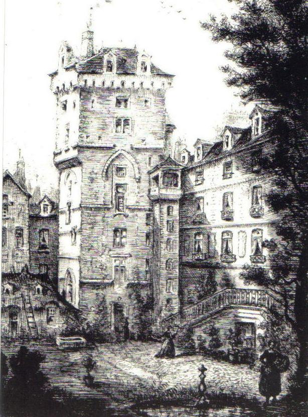 Tour jean sans peur 1861