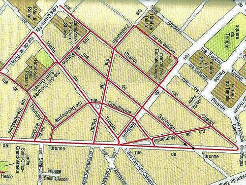 Place de france plan (2)