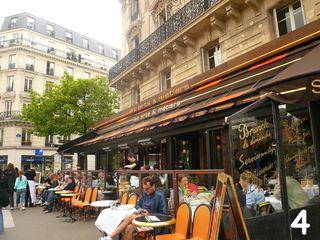 Arts & métiers brasserie terrasse