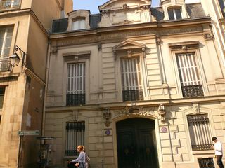 Francs bourgeois 39 sté des cendres  façade