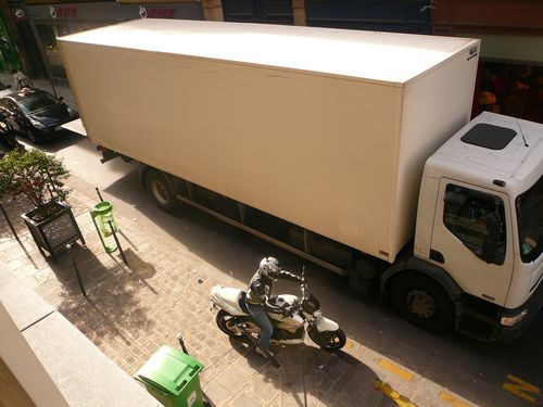 Haudreittes 5 camion livraison pleine voie