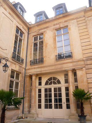 Turenne 60 hôtel équevilly grand veneur portique