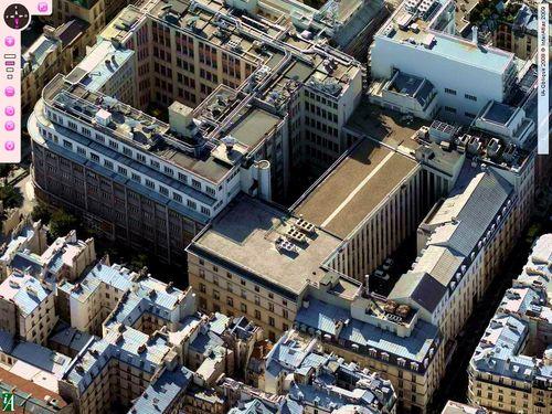 France telecom pastourelle temple vue du ciel