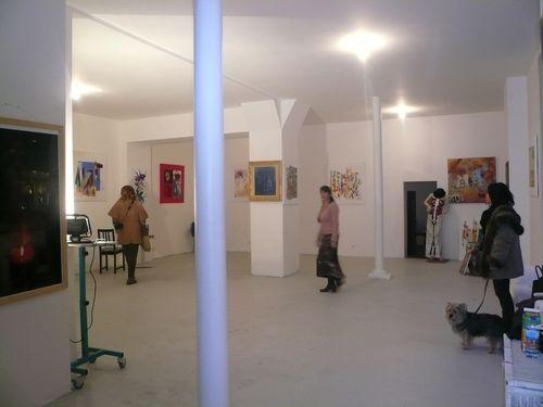 Vue intérieure expo