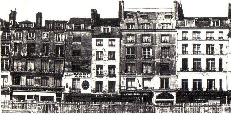 Quartier horloge avant rénovation 2