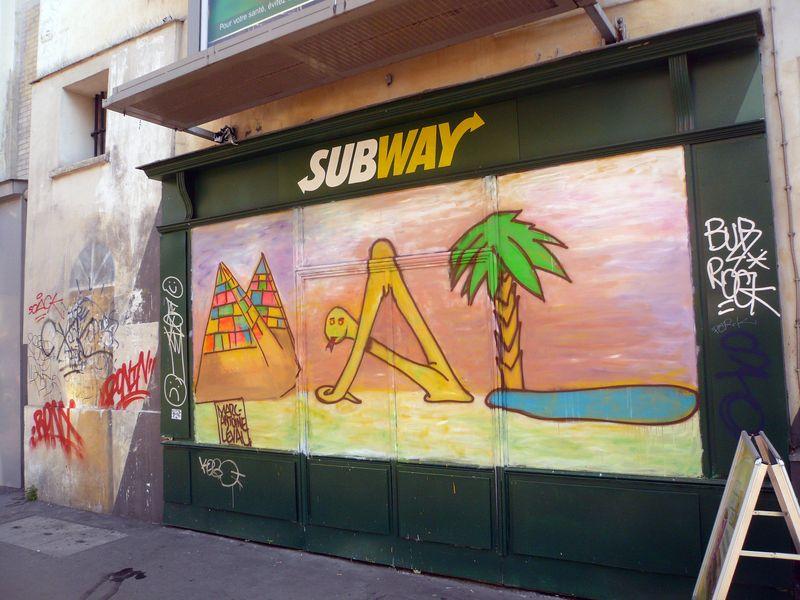 Bretagne subway déco septembre 2011