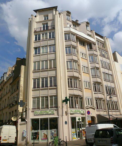 Bretagne 10 immeuble h guimard 1919