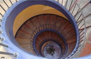 Bailly escalier tour prieuré st martin