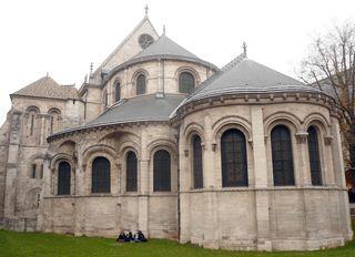 Réaumur prieuré st martin chevet chapelle 24 11 11