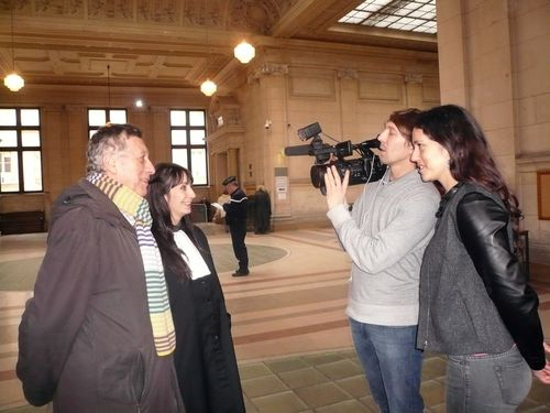 Tribunal paris filmage M6 14 02 12