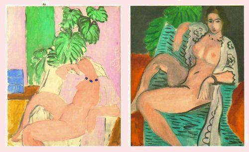 Matisse luxe calme et volupté cartes