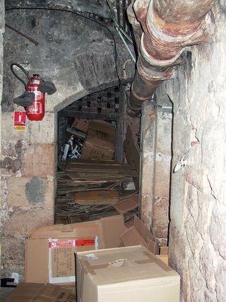 Temple 101 couloir cave 09 05 12