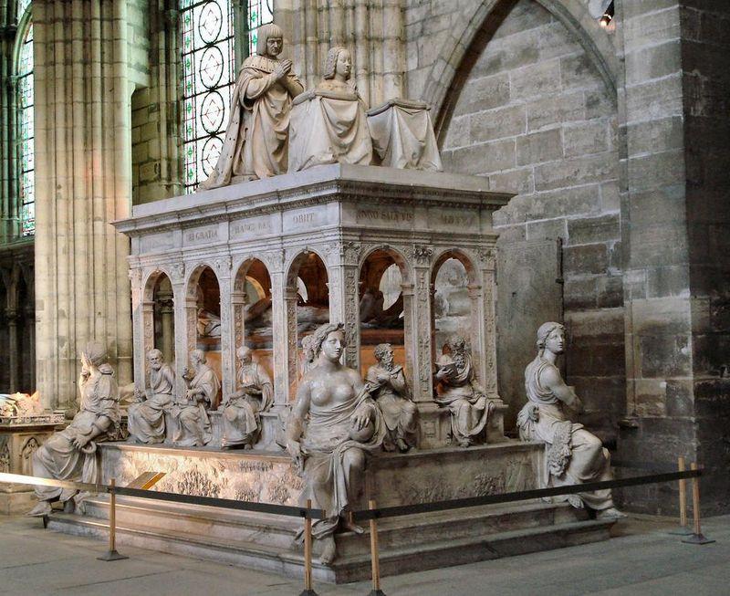 Basilique-saint-denis louis XII et anne de betagne