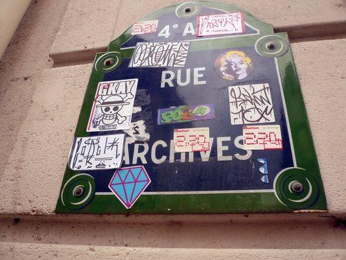 Plaque rue archives 19 03 12