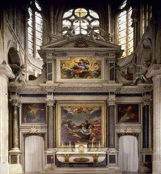 St nicolas des champs autel