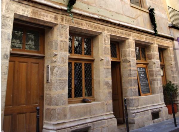 Nicolas Flamel hostellerie 1
