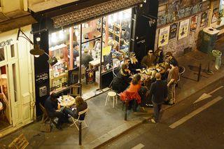 Trois bornes soirée trottoir 2012