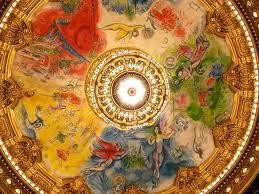 Opéra garnier plafond chagall