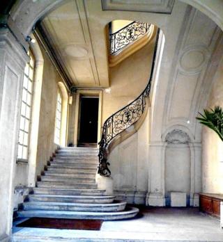 Braque 4 escalier monumental