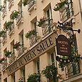"""Hôtel """"Vieux Saule"""" façade"""