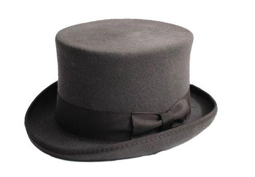Eatopg_chapeau_haut_de_forme_elegant_retro_laine_gris_2