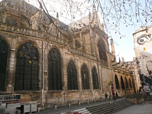 église st merri intérieur