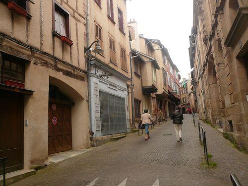 Rodez vieille rue