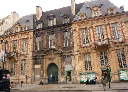 St antoine 21 hôtel de mayenne façade actuelle