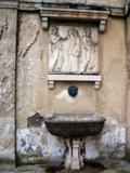 Soubise rohan jardin vasque bas relief
