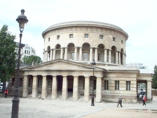 Propylée de la Villette