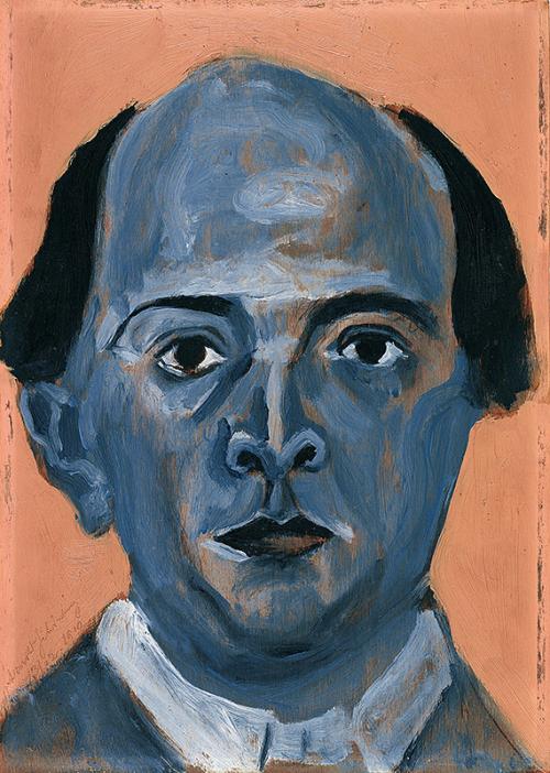 Arnold-Schonberg-Autoportrait-bleu