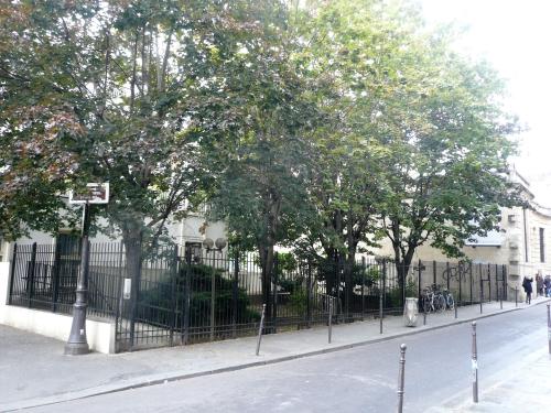 Thorigny jardin hôtel aubert de fontenay