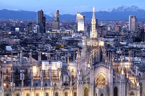 Milan afp
