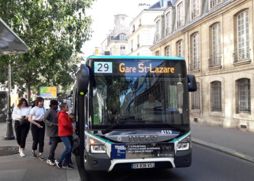 Bus 29 le 22 09 17