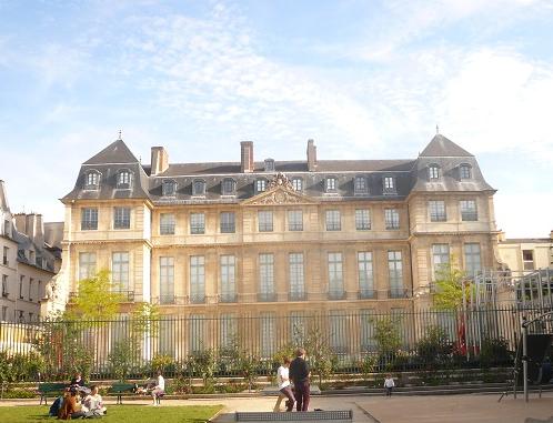 Musée picasso façade jardin 25 09 14