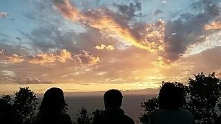 Canari coucher de soleil 2016
