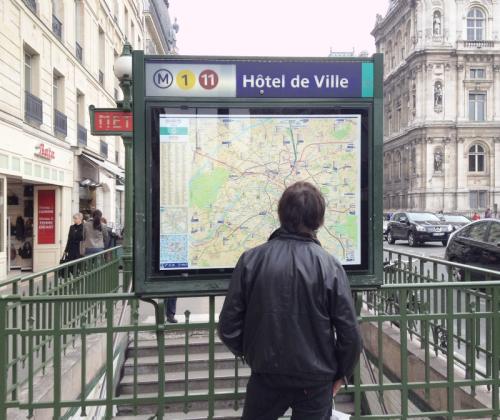 Pont des arts paris metro hotel de ville station plan