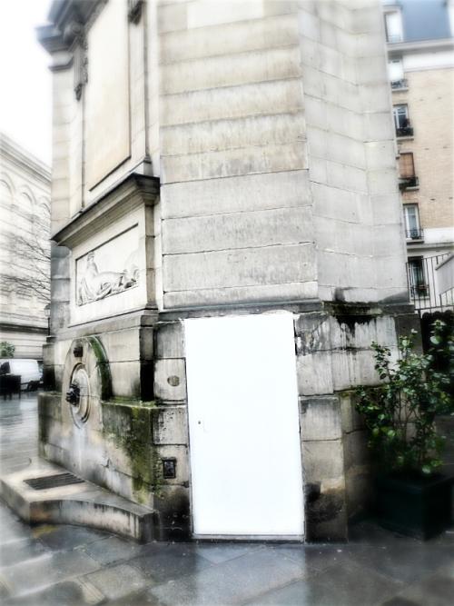 Fontaine haudriettes repeinte 06 03 17
