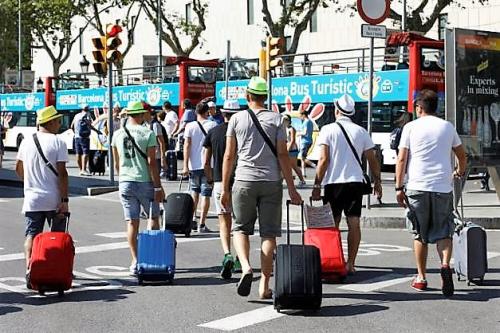 Locations saisonnières valises roulettes barcelone 2016