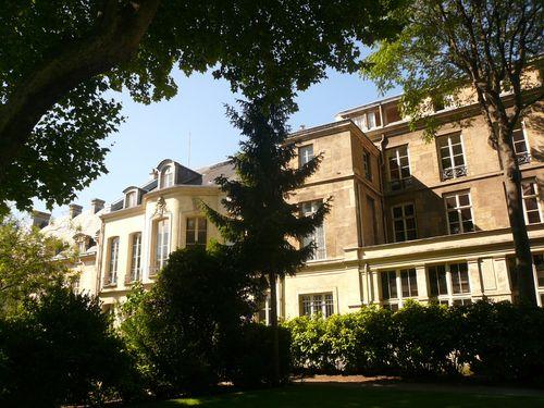 Soubise rohan jardins bâtiments francs bourgeois