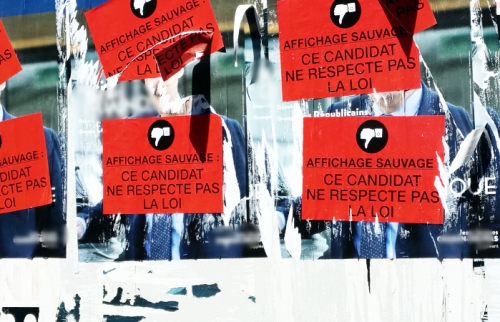 Affiches riposte à affichage sauvage 21 06 17