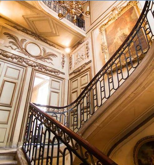 Amelot bisseuil escalier monumental