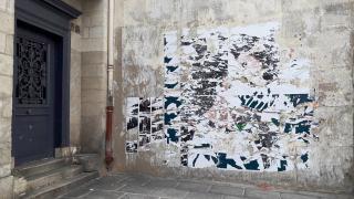 Archives 40 pignon affiches lacérées 29 03 18